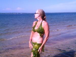 mermaid heather crop