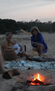 On Haven's Beach in Sag Harbor